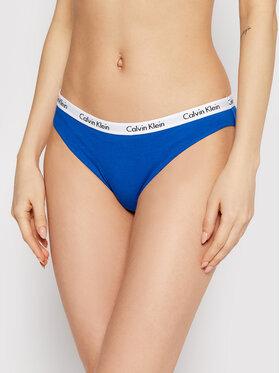 Calvin Klein Underwear Calvin Klein Underwear Klasické nohavičky 0000D1618E Modrá