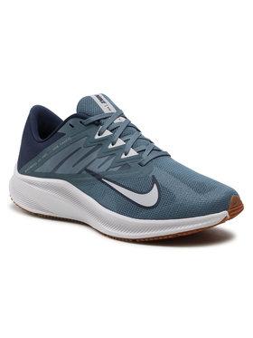 Nike Nike Buty Quest 3 CD0230 008 Niebieski