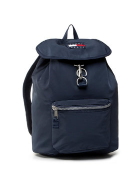 Tommy Jeans Tommy Jeans Kuprinė Tjw Heritage Backpack Nylon AW0AW08294 Tamsiai mėlyna