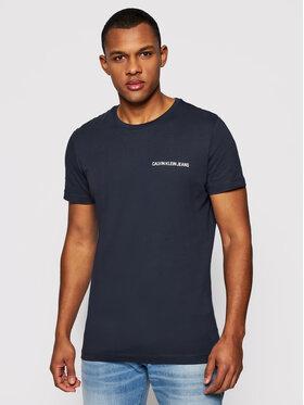 Calvin Klein Jeans Calvin Klein Jeans Tričko J30J307852 Tmavomodrá Regular Fit