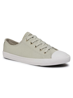 Converse Converse Sneakers aus Stoff Ctas Dainty Ox 564307C Grün