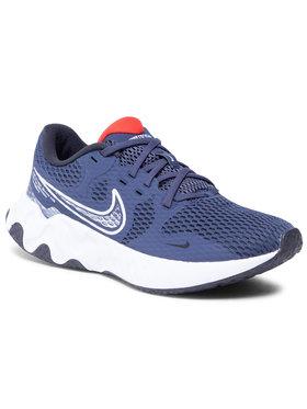Nike Nike Boty Renew Ride 2 CU3507 405 Tmavomodrá