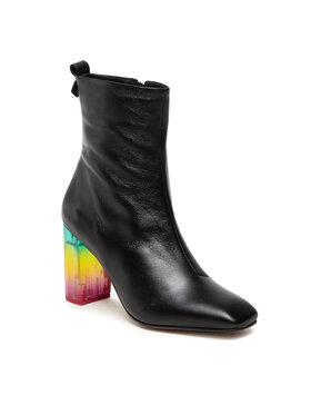 Kurt Geiger Kurt Geiger Боти Rainbow Strut 8490800109 Черен