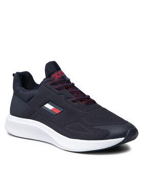 Tommy Hilfiger Tommy Hilfiger Sneakersy Ts Pro Perf FD0FD00025 Granatowy