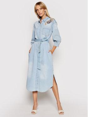 TWINSET TWINSET Jeanskleid 211MT2641 Blau Regular Fit