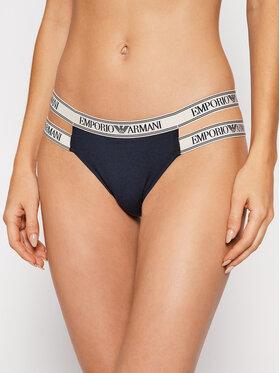 Emporio Armani Underwear Emporio Armani Underwear Дамски бикини тип бразилиана 164487 1A227 00135 Тъмносин