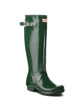 Hunter Hunter Wellington Org Tall Gloss WFT1000RGL Verde