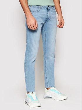 Lee Lee Džínsy Luke L719NLUH Modrá Slim Fit