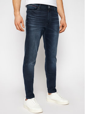 Tommy Jeans Tommy Jeans Skinny Fit Jeans Simon Cobbs DM0DM09851 Dunkelblau Skinny Fit
