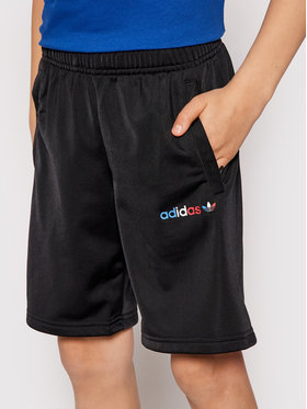 adidas adidas Спортни шорти adicolor GN7509 Черен Regular Fit