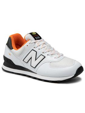 New Balance New Balance Laisvalaikio batai ML574UA2 Balta
