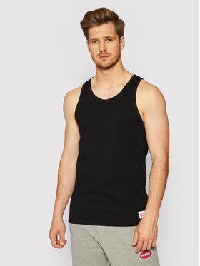 PROSTO. PROSTO. Tank top marškinėliai KLASYK Trevor 4041 Juoda Regular Fit