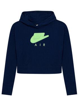 Nike Nike Mikina Air DA1173 Tmavomodrá Standard Fit
