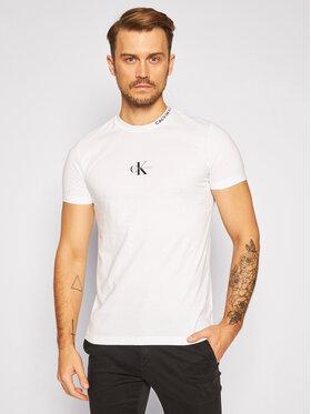 Calvin Klein Jeans Calvin Klein Jeans Póló J30J315878 Fehér Regular Fit