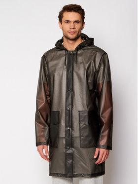 Rains Rains Kurtka przeciwdeszczowa Unisex 1269 Czarny Regular Fit