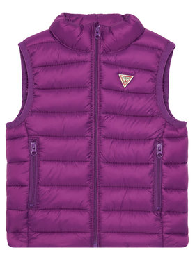Guess Guess Gilet H93T01 WCAO0 Violet Regular Fit