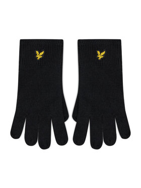 Lyle & Scott Lyle & Scott Herrenhandschuhe Racked Rib Gloves GL304CL Schwarz