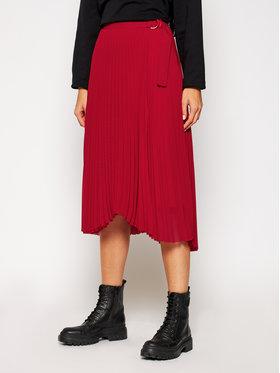 Calvin Klein Calvin Klein Gonna plissettata K20K202329 Rosso Regular Fit