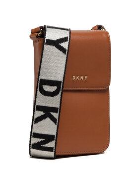 DKNY DKNY Handtasche Winonna Flap Phone C R11EKM09 Braun