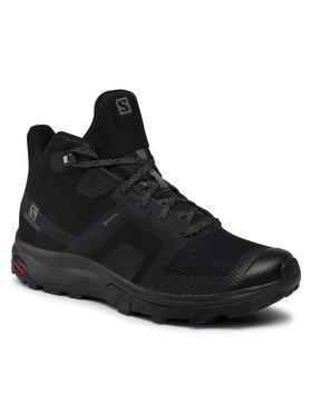 Salomon Salomon Παπούτσια πεζοπορίας Outline Prism Mid Gtx GORE-TEX 411200 27 M0 Μαύρο