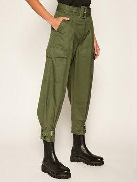Tommy Jeans Tommy Jeans Pantaloni di tessuto DW0DW08321 Verde Regular Fit