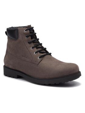 Geox Geox Outdoorová obuv U Rhadalf B U845HB 00032 C9002 Sivá