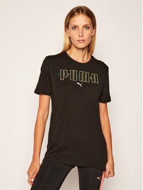 Puma Puma T-Shirt Brand Tee 584509 Černá Regular Fit
