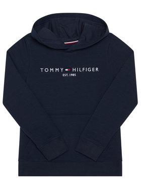 TOMMY HILFIGER TOMMY HILFIGER Džemperis Essential Hoodie KB0KB05796 D Tamsiai mėlyna Regular Fit