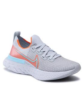 Nike Nike Обувки React Infinity Run Fk CD4372 008 Сив