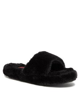 Polo Ralph Lauren Polo Ralph Lauren Kapcie Fur Slide RF103304 Czarny