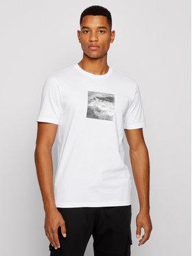 Boss Boss Marškinėliai TNoah 5 50450899 Balta Regular Fit