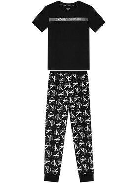 Calvin Klein Calvin Klein Πιτζάμα B70B700335 Μαύρο