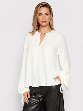 Trussardi Trussardi Блуза 56C00485 Бял Relaxed Fit
