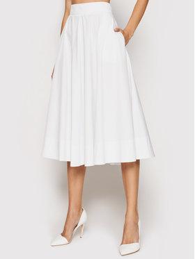 Marella Marella Trapez suknja Pianola 31010612 Bijela Regular Fit