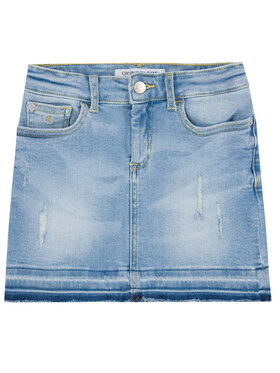 Calvin Klein Jeans Calvin Klein Jeans Sukně Denim IG0IG00457 Modrá Straight Fit