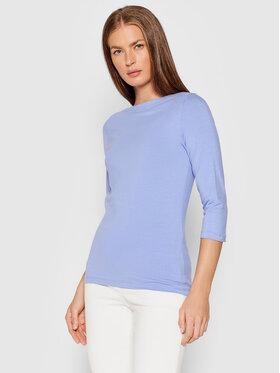 Vero Moda Vero Moda Bluzka Panda 10233477 Niebieski Regular Fit