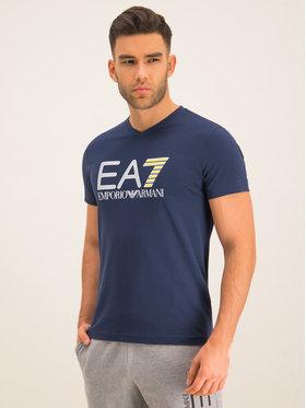 EA7 Emporio Armani EA7 Emporio Armani T-shirt 3HPT06 PJ02Z 1554 Blu scuro Regular Fit