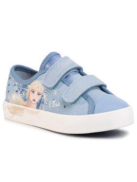 Geox Geox Sneakers aus Stoff J Ciak G.H J0204H 00010 C4017 M Blau