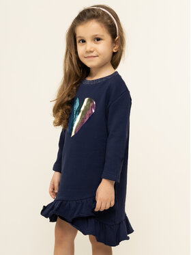 Billieblush Billieblush Ежедневна рокля U12510 Тъмносин Regular Fit