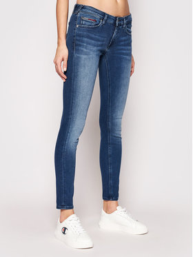 Tommy Jeans Tommy Jeans Farmer Sophie DW0DW09214 Sötétkék Skinny Fit