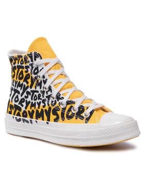 Converse Converse Trampki Chuck 70 Hi 170282C Żółty