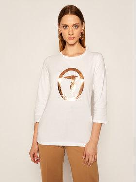 Trussardi Jeans Trussardi Jeans Blusa 56T00312 Bianco Regular Fit
