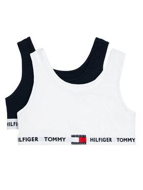 Tommy Hilfiger Tommy Hilfiger Komplektas: 2 sportinės liemenėlės UG0UG00345 Tamsiai mėlyna