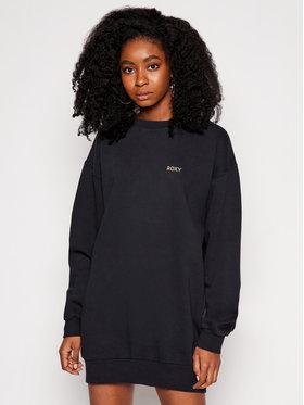 Roxy Roxy Úpletové šaty Secret Break ERJFT04162 Černá Relaxed Fit