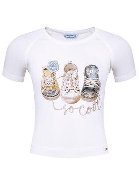 Mayoral Mayoral T-shirt 3004 Bianco Regular Fit