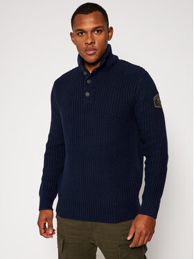 Quiksilver Quiksilver Sweater No Destination EQYSW03267 Sötétkék Regular Fit