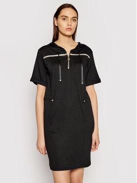 Liu Jo Sport Liu Jo Sport Úpletové šaty TA1147 J6176 Černá Regular Fit