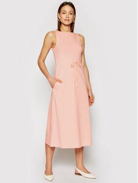 Marella Marella Každodenné šaty Autobus 36210115200 Ružová Regular Fit