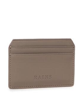Rains Rains Калъф за кредитни карти Card Holder 1624 Сив