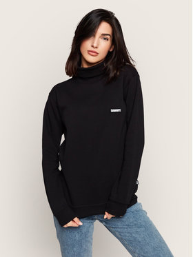 Diamante Wear Diamante Wear Bluză cu gât Unisex Basic 5361 Negru Regular Fit